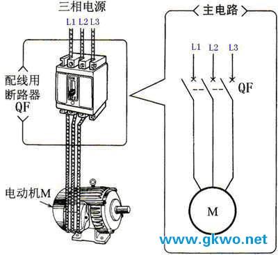 控制电动机的启动和停止举例