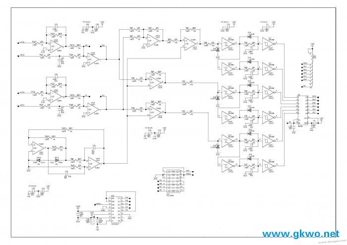 变频器电路图-spwm驱动波形生成部分