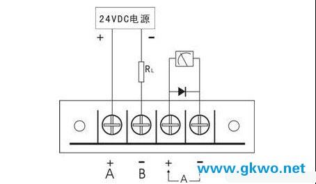 压力变送器安装接线图
