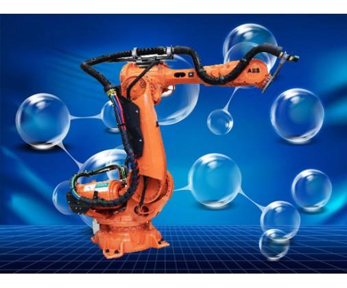 ABB机器手焊接工作视频 (374播放)