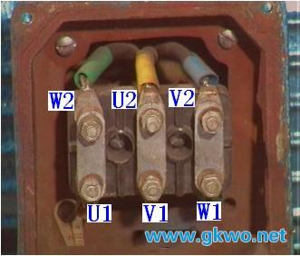三相异步电动机的结构铭牌及其定子三相绕组的接线方式