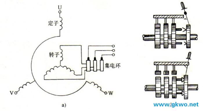 三相异步电动机的结构铭牌及其定子三相绕组的接线