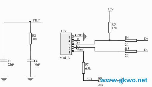 基于isp1362的u盘mp3播放器设计