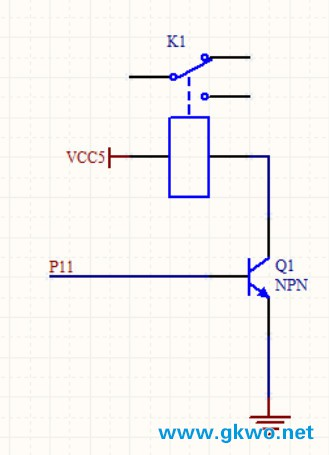 单片机怎么驱动继电器