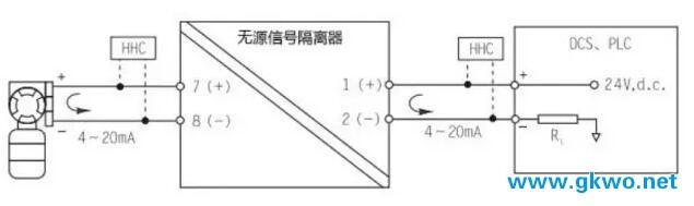 信号隔离器工作原理图