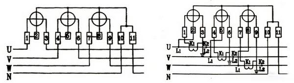 最全的三相四线电表接线图