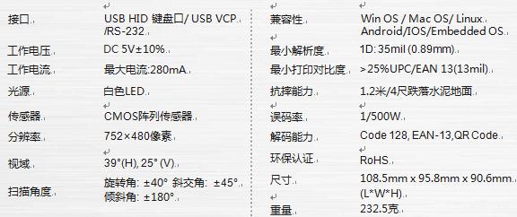 IVY-505 二维影像条码扫描支付平台(2)