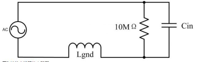 接地夹线等效电路图