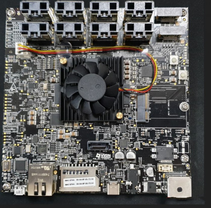 大联大品佳推出基于NXP的QNX之汽车数字仪表解决方案的方案块图